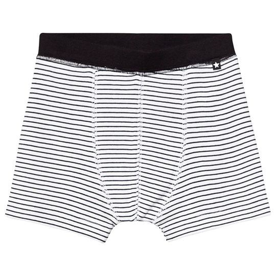 Molo Jon Boxers Sort/Hvid Stribe Black`n White Stripe