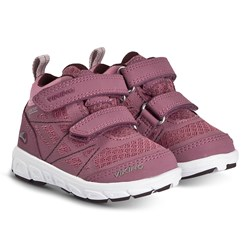 Viking Veme Vel Mid GTX Shoes Dark Pink and Violet