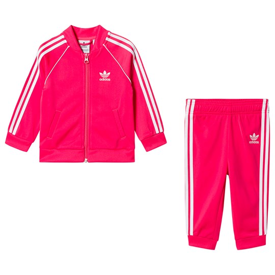 adidas Originals Superstar Träningsoverall Rosa Top:REAL PINK S18/white Bottom:REAL PINK S18/WHITE
