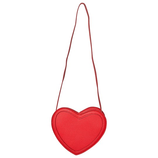 Molo Heart Shoulder Bag Red heart