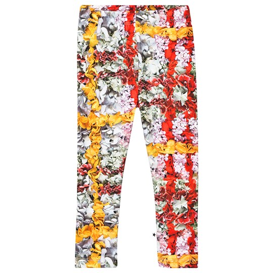Molo Niki Leggings Checked Flowers Checked Flowers