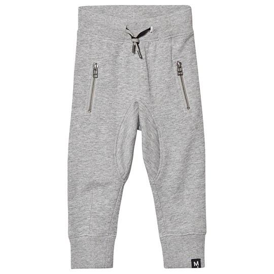 Molo Ashton Soft Pants Grey Melange Grey Melange