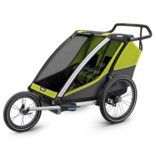 Thule Thule Chariot Cab 2 Double Bike Trailer Chartreuse Chartreuse