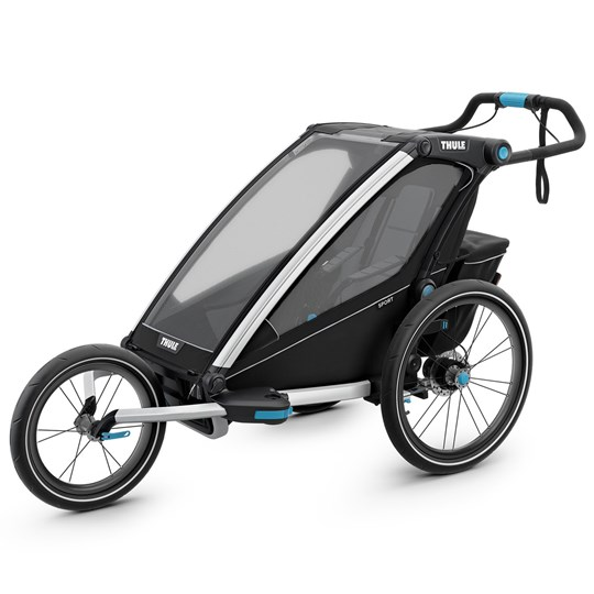 Thule Thule Chariot Sport Single Bike Trailer Black Black