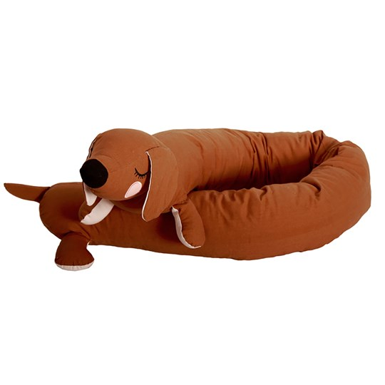 Roommate Lazy Long Dog Golden Brown BROWN