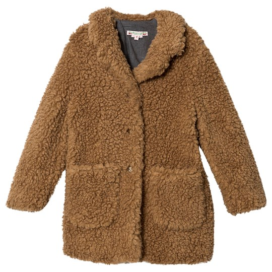 Bonpoint Teddy Coat Brown 068A