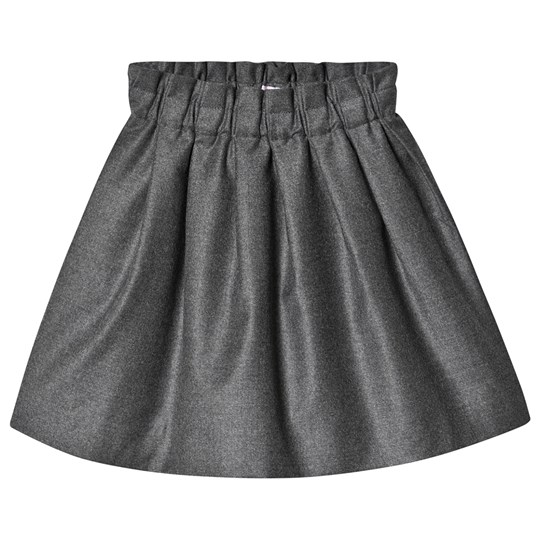 Bonpoint Wool Skirt Grey 095A