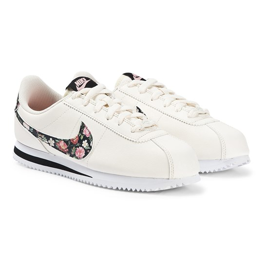 NIKE Cortez Basic Sneakers Pale Ivory and Pink Tint 100
