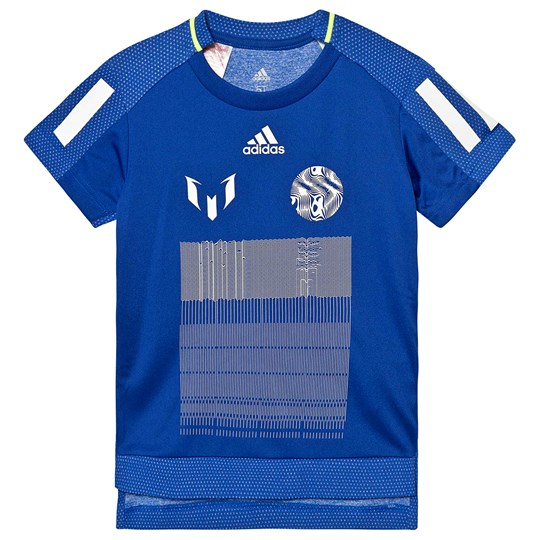 adidas Performance Messi Icon T-Shirt Blue COLLEGIATE ROYAL/WHITE