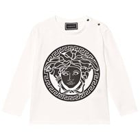 7420aac0f904 Versace Medusa Long Sleeve Tee White YA73B
