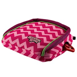 BubbleBum Inflatable Travel Car Booster Seat Pink