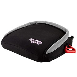 BubbleBum Inflatable Travel Car Booster Seat Black