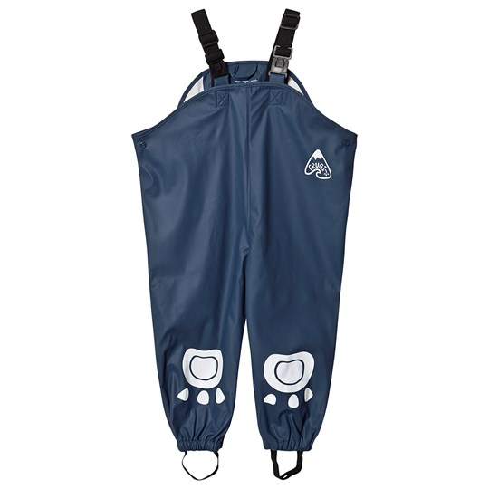 Frugi Puddle Buster Pants Space Blue Space Blue