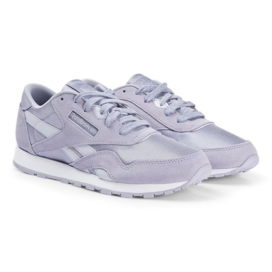 Reebok Classic Nylon Sneakers Lilac MOON VIOLET/LUCID LILAC