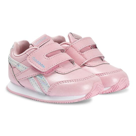Reebok Royal Infant Sneakers Pink and Silver PINK GLOW/IRIDESCEN