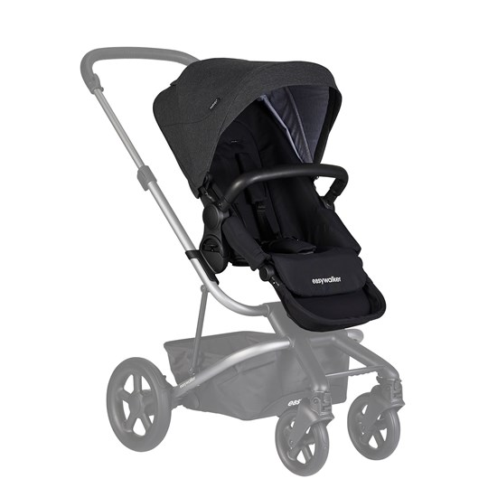 EasyWalker Harvey² Ekstra Sittedel Night Black Night Black