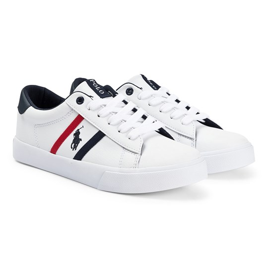 Ralph Lauren Geoff Lace Sneakers White White