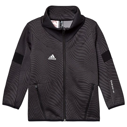 adidas Performance Nemesis Track Jacket Black carbon/GREY THREE F17