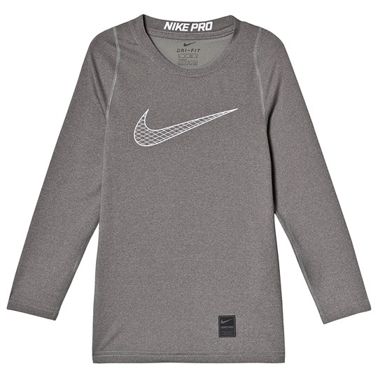 NIKE Pro Long Sleeve Tee Grey 065