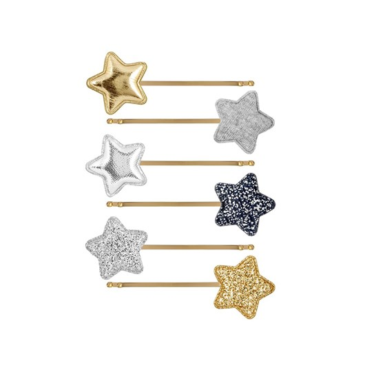 Mimi & Lula 6-Pack Circus Star Hair Clips 05