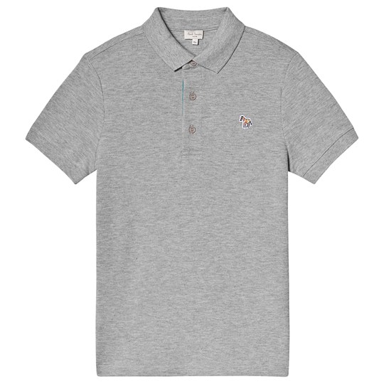 Paul Smith Junior Pique Polo Grey 240