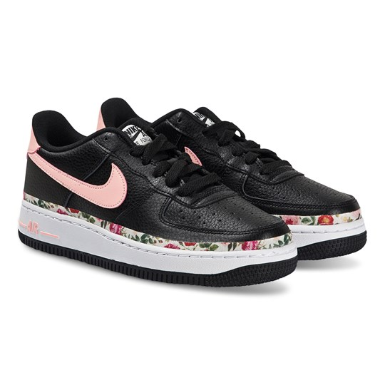 NIKE Air Force 1 Sneakers Black and Pink Tint 001