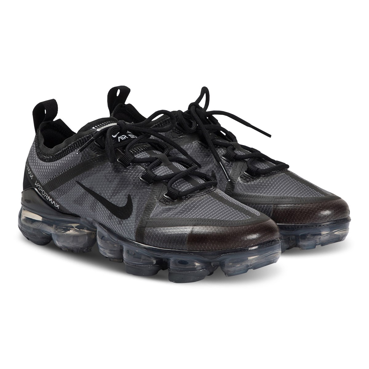 NIKE White Nike Air VaporMax Trainers Babyshop.no