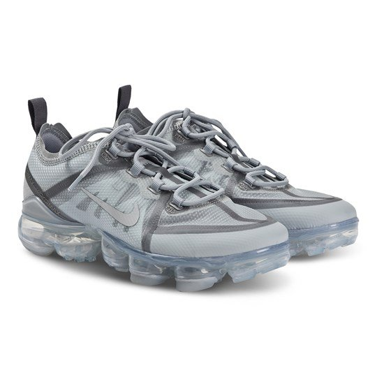 NIKE Air VaporMax 2019 Sneakers Gunsmoke and Wolf Grey 010