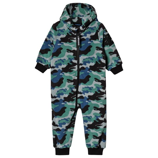 The BRAND Fleece Onesie Blå Camo