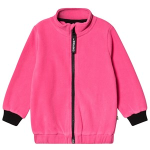 The BRAND Fleece Jakke Neon Pink 80/86 cm