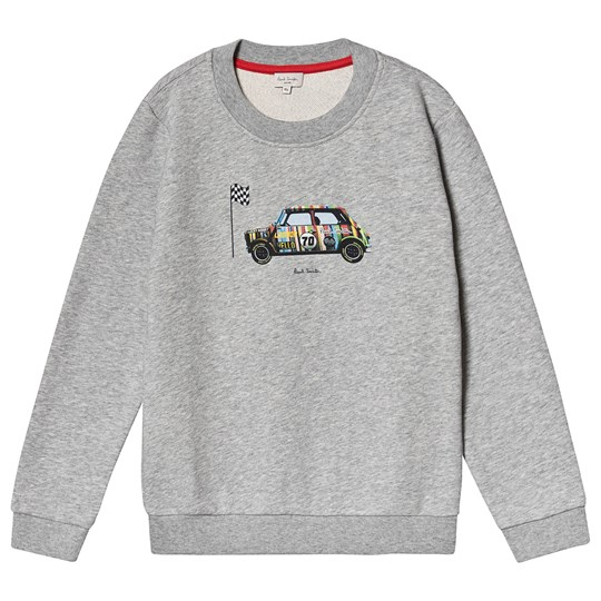 Paul Smith Junior Mini Print Tröja Grå Marl 240