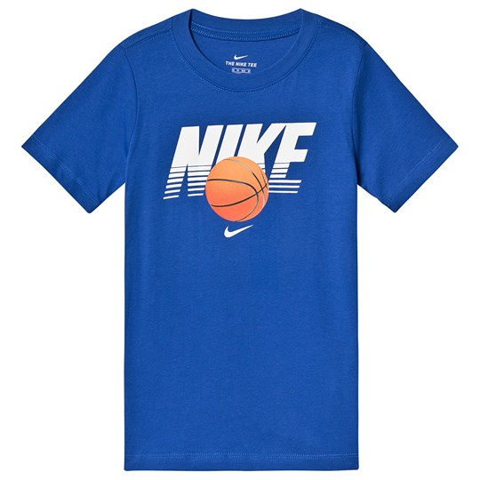 NIKE Basketball Tee Blue 480