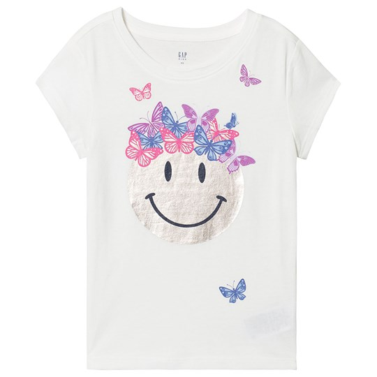 GAP Smiley Tee New Off White New Off White Opt3