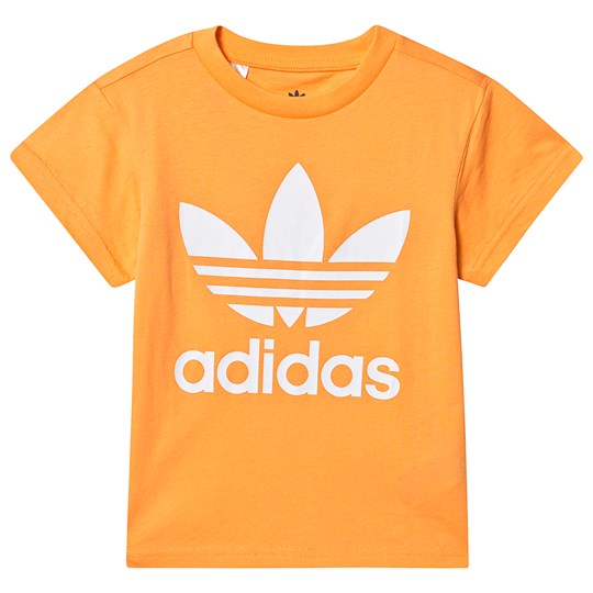 adidas Originals Trefoil Tee Yellow REAL GOLD S18/white