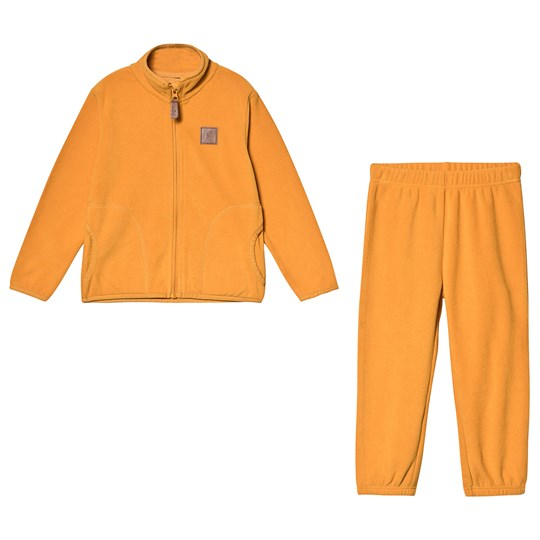 Kuling Northpole Fleece Set Yellow Mustard