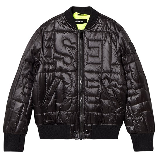 Diesel Quilted Puffer Jacket Black K900