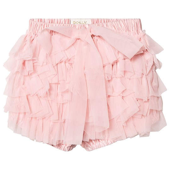 DOLLY by Le Petit Tom Frilly Bloomers Rose Pink Rose Pink