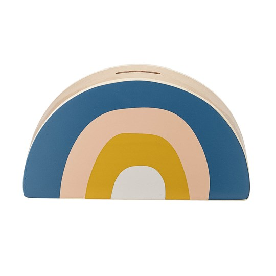 Bloomingville Money Bank Rainbow Beech Blue