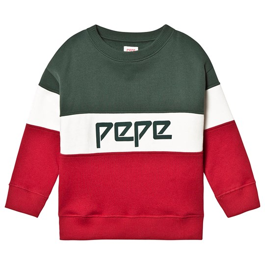 Pepe Jeans Color Block Sweater Green Gable 691