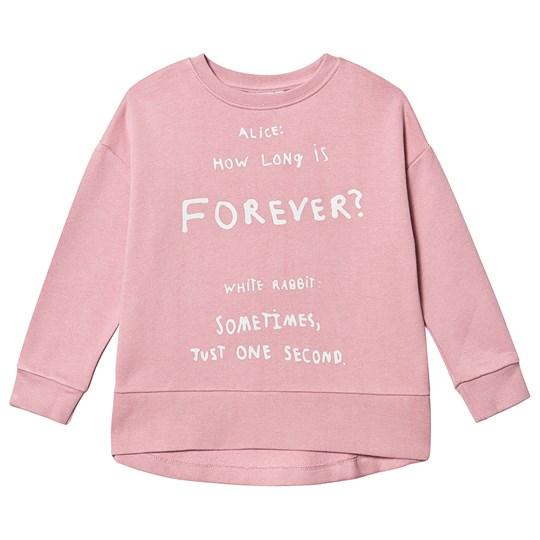 Beau Loves Relaxed Fit Tröja Rosa Pink Love Forever White