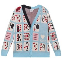 463f3dc1 Beau Loves Knit Cardigan Sky Game Of Hearts Jacquard Sky, Game Of Hearts  Jacquard