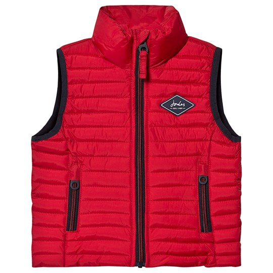Tom Joule Crofton Gilet Red Red