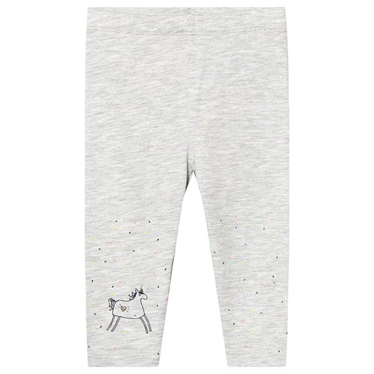 Billieblush Unicorn Confetti Print Leggings Grey A07