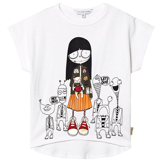 Little Marc Jacobs Monster T-Skjorte Hvit 117