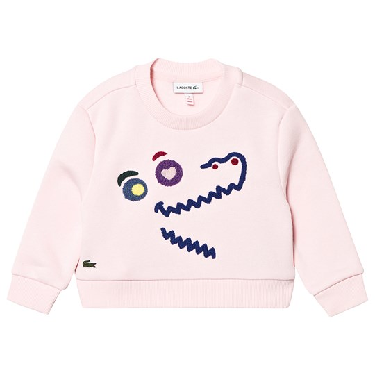 Lacoste Cartoon Sweatshirt Pink T03