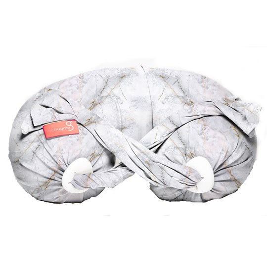 bbhugme Pregnancy and Nursing Pillow Marble Vanilla Special Edition Marble