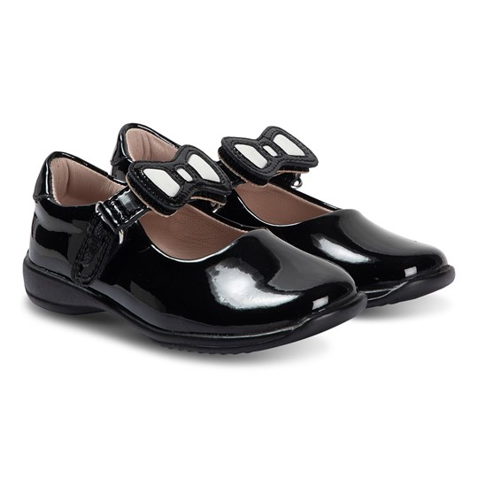 Lelli Kelly Bow Strap Mary Janes Black BLACK PATENT