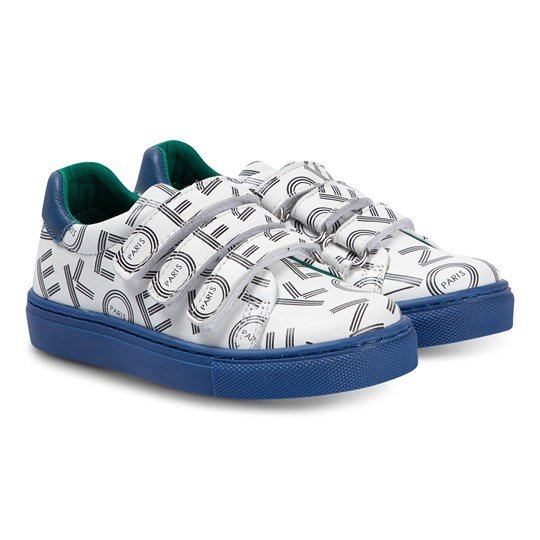 Kenzo Japanese Dragon Sneakers Optisk Vit 01