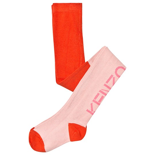 Kenzo Logo Tights Middle Pink 33