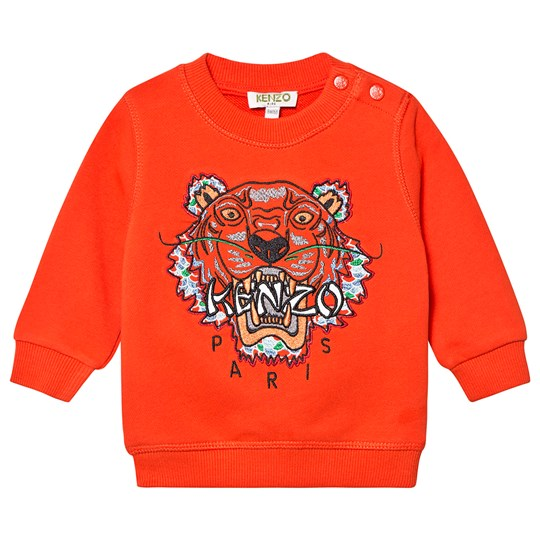 Kenzo Tiger Baby Sweatshirt Orange 37